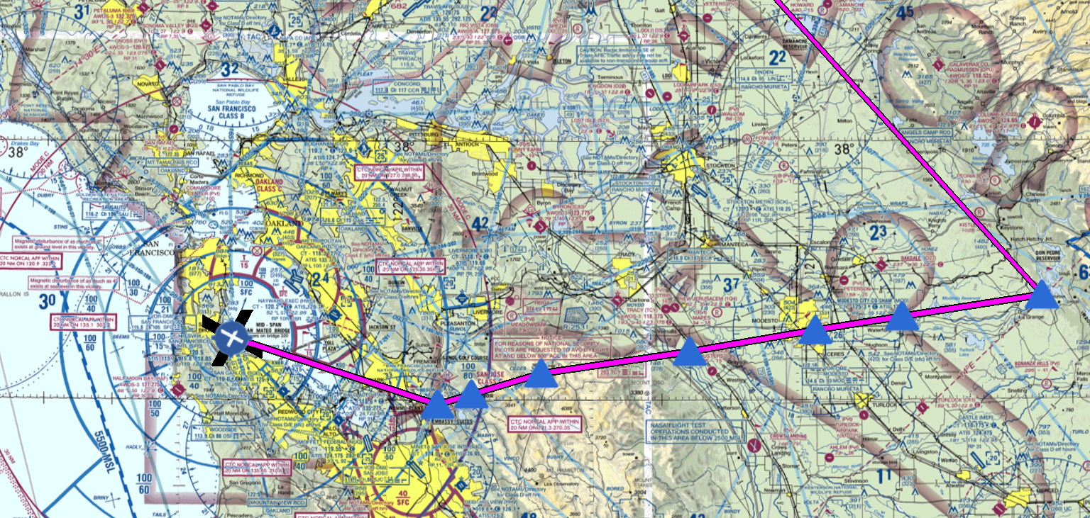 How To Use Skyvector For Ifr Flight Planning With Sids And Stars