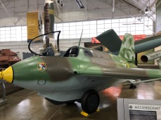 German ME 163 Komet rocket plane